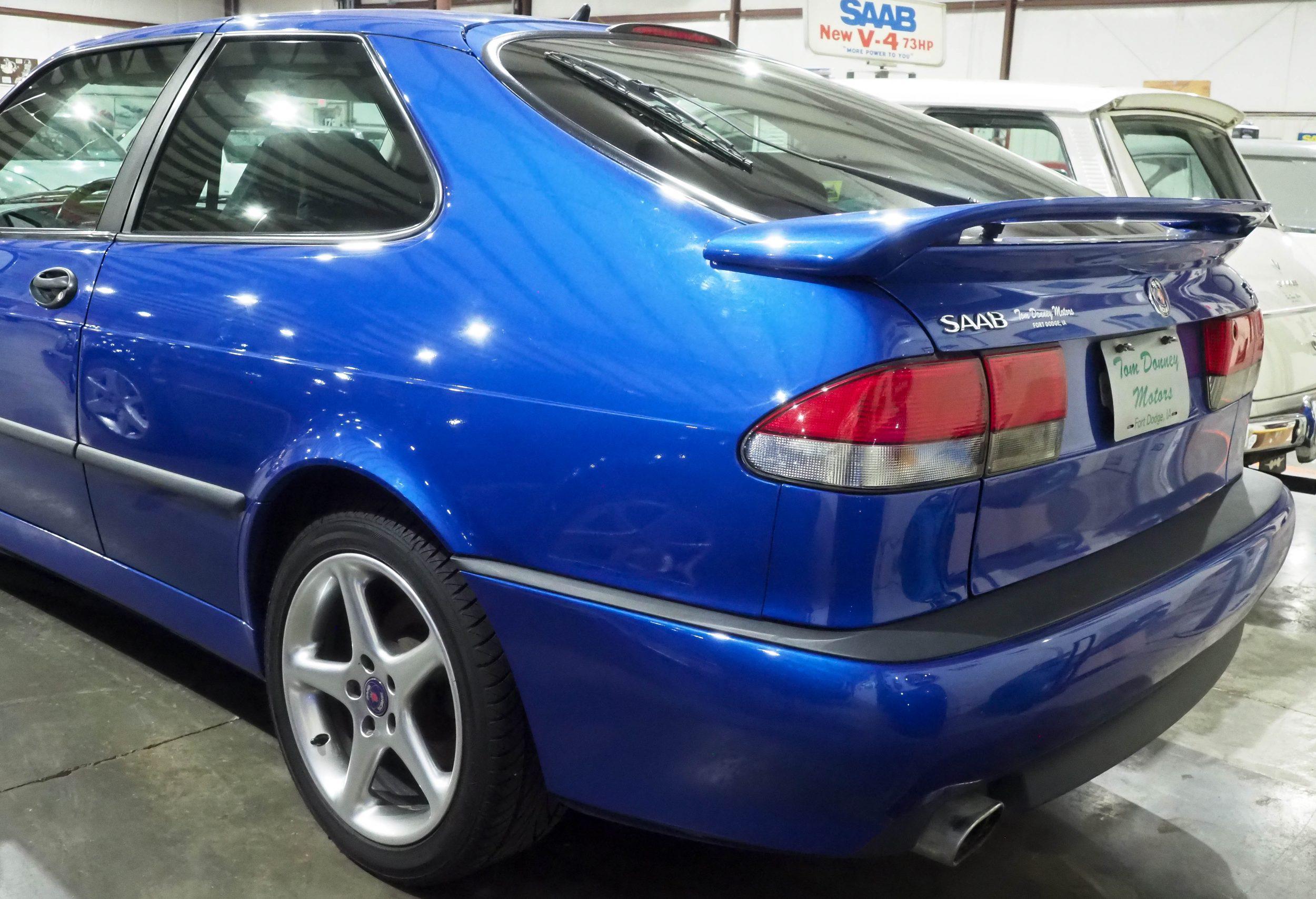 1999 - 9-3 VIGGEN, 2.3l - 4 cyl turbo - Saab Heritage Car ...